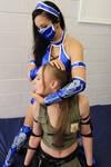 SONYA BLADE vs KITANA # 8