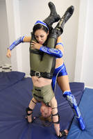 SONYA BLADE vs KITANA # 15 by sleeperkid