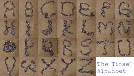 Tinsel alphabet