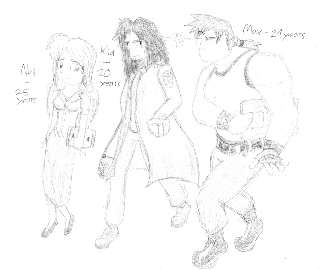 Minus 16 - Nell, Kid, Max by Perrydotto