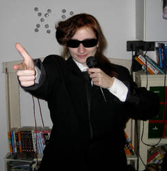 Agent J Cosplay - First try 04