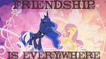 Friendship is everywhere Wallpaper by Perrydotto