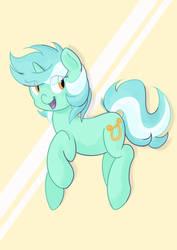 Bouncing Lyra by Perrydotto