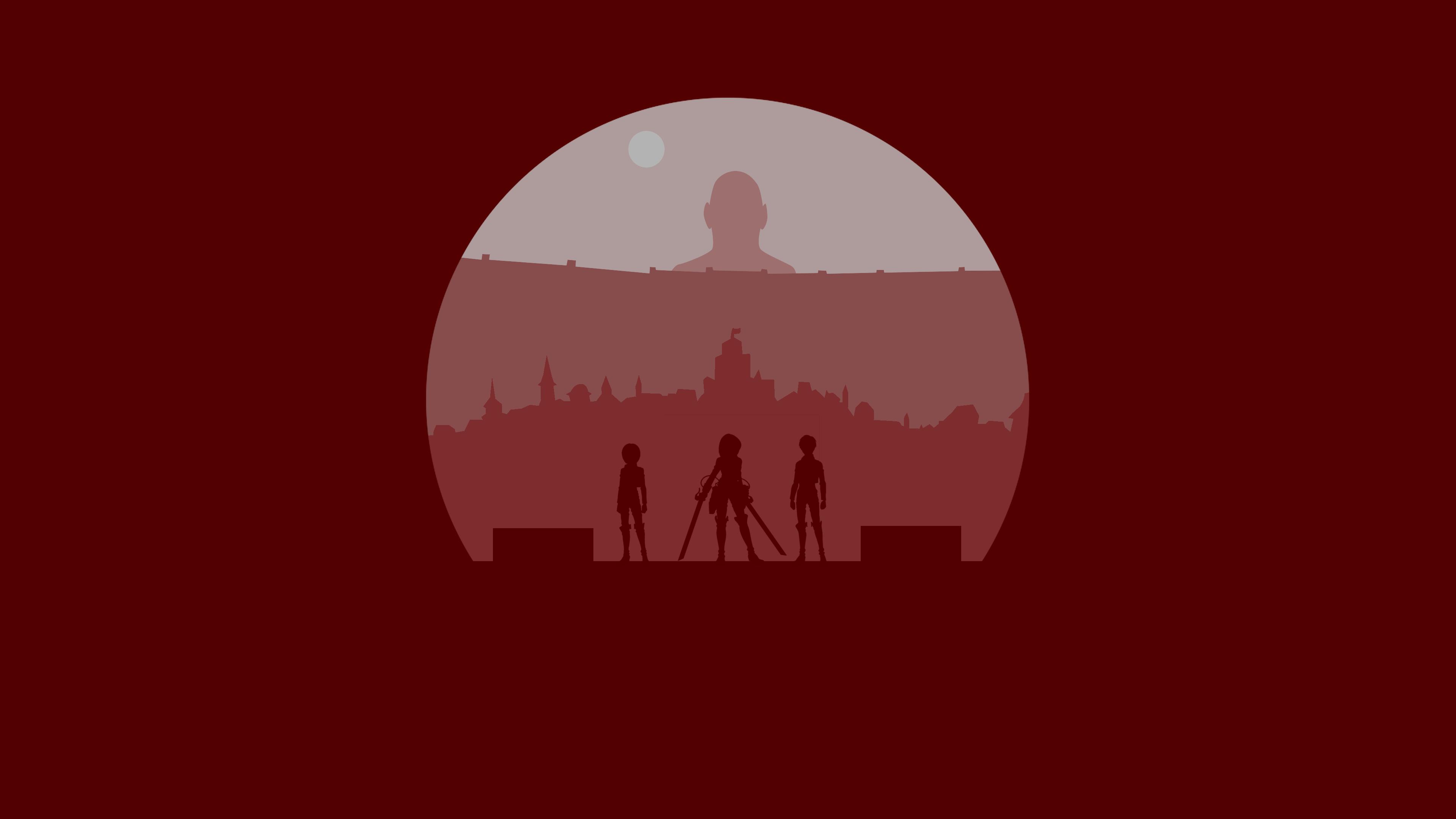 Minimalist Attack On Titan By Rubixcraft On Deviantart