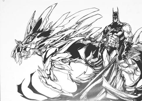 White Dragon and Dark Knight