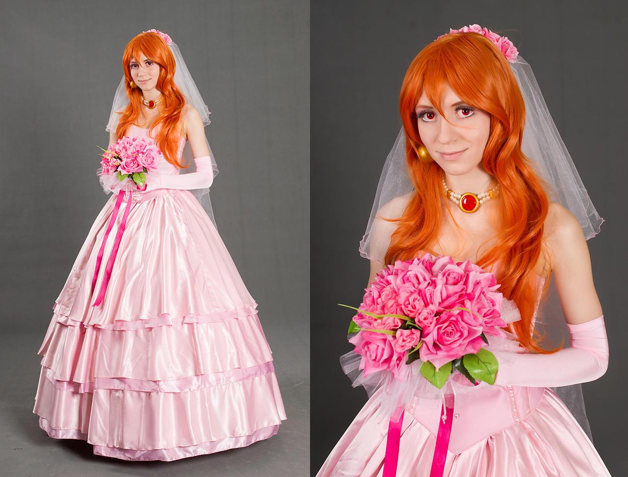 Lina Inverse - wedding dress by GreatQueenLina