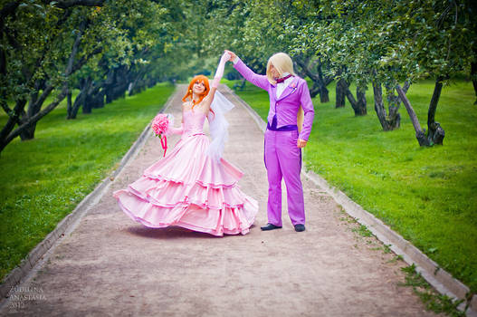 Lina and Gourry wedding_4