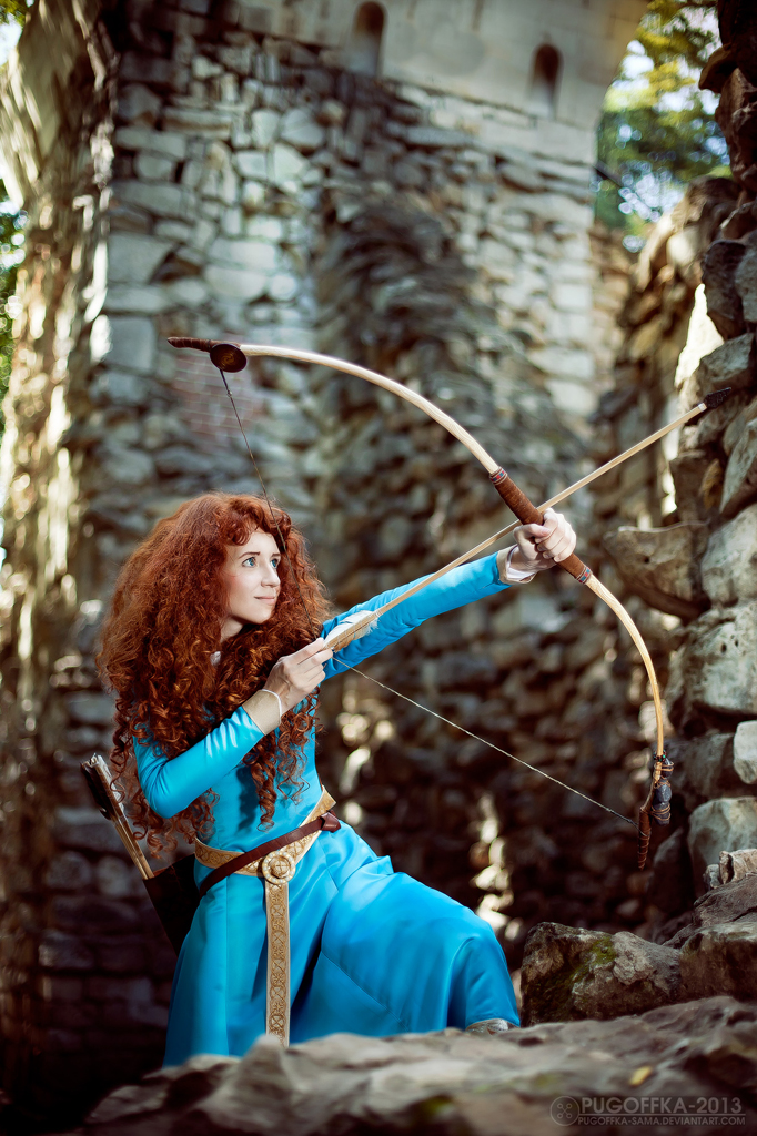 Brave - Princess Merida_7 by GreatQueenLina