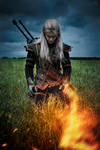 The Witcher 2 cosplay - Geralt of Rivia_3