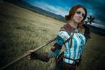The Witcher 2 cosplay - Triss Merigold_3