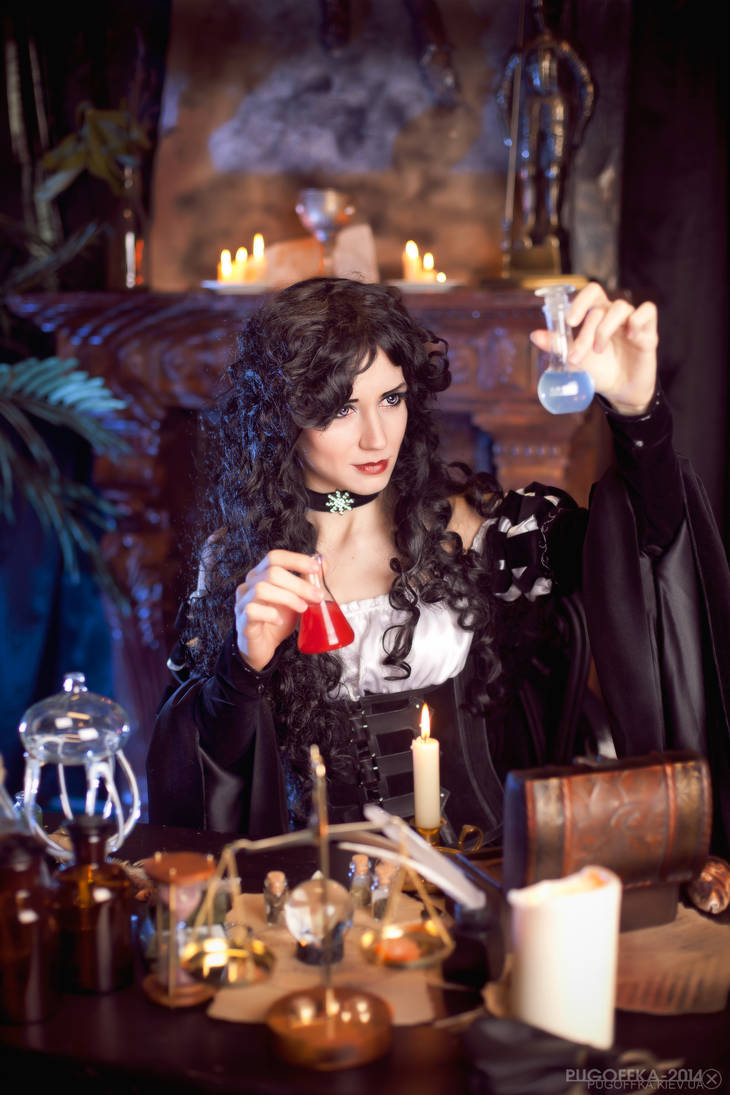 The Witcher books - Yennefer by GreatQueenLina