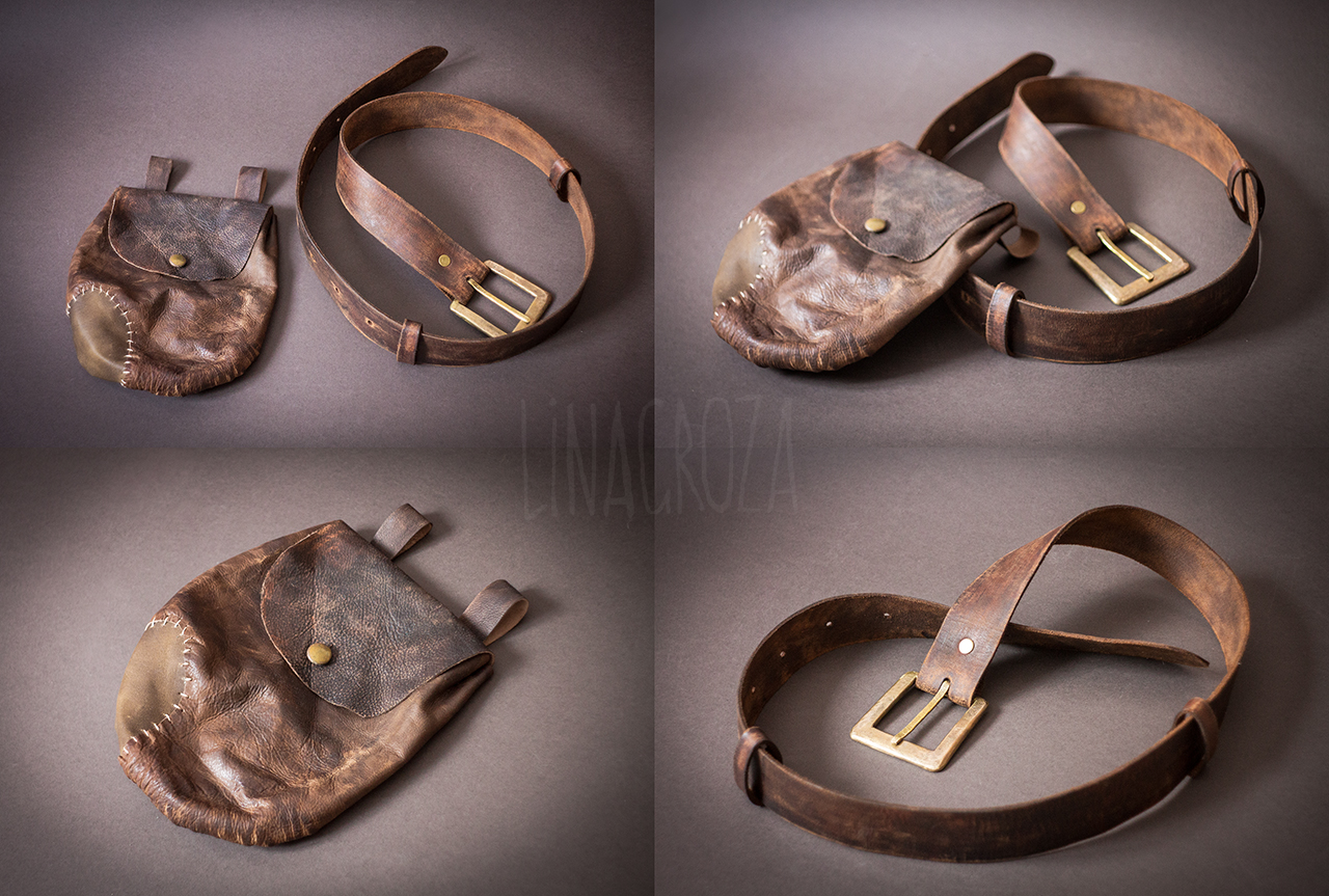 Leather accessories from Skyrim