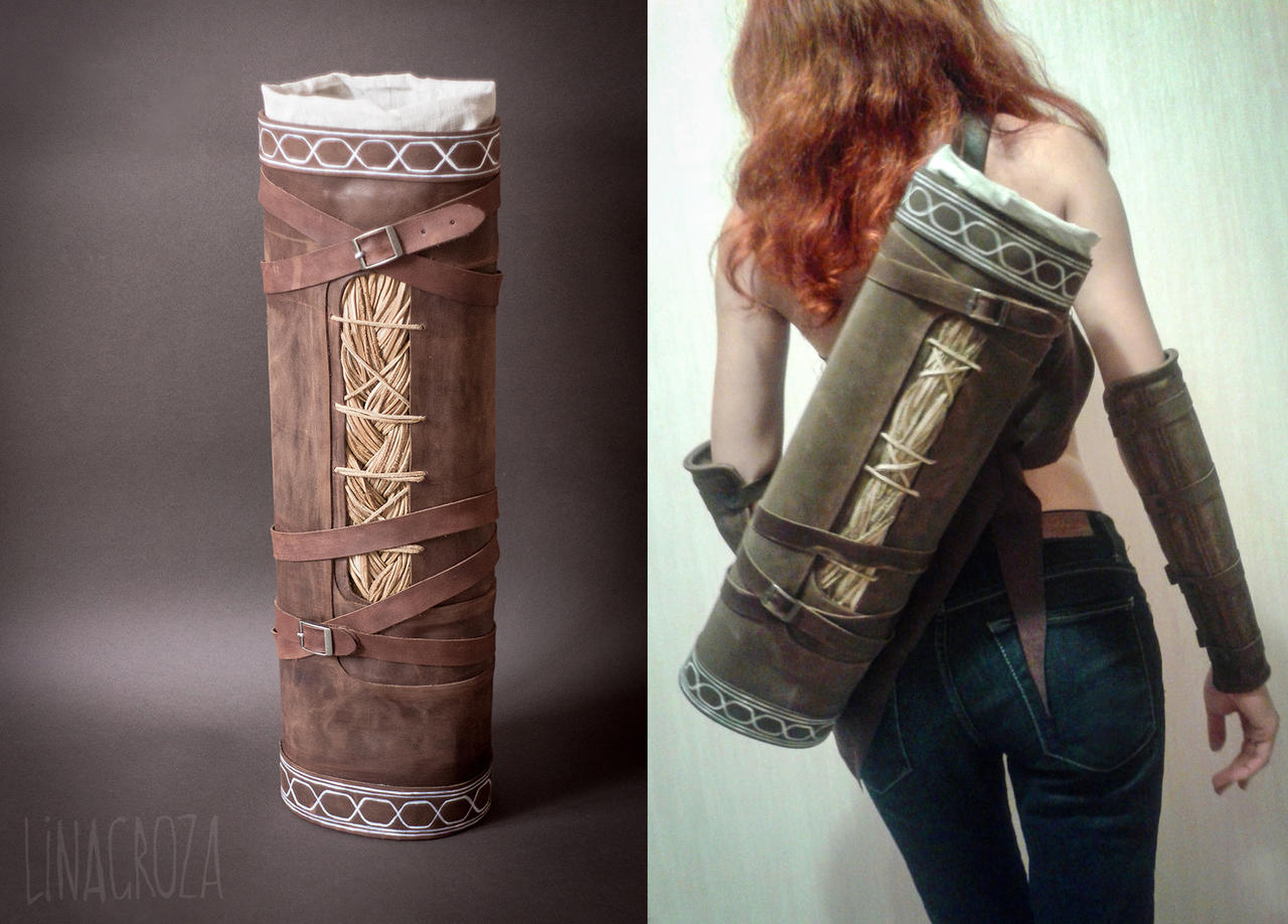 Leather quivers from Dragon Age: Inquisition