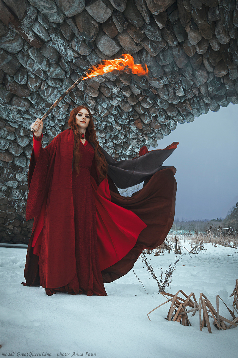 Melisandre - A Song of Ice and Fire by GreatQueenLina on DeviantArt