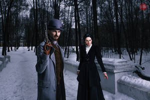 Penny Dreadful - Ethan Chandler and Vanessa Ives by GreatQueenLina