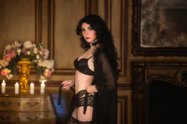 The Witcher books - Yennefer of Vengerberg_5 by GreatQueenLina