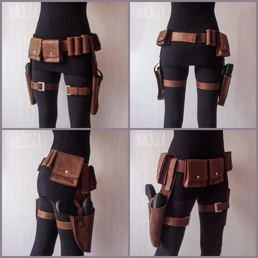Mandalorians leather accessories (Star Wars)