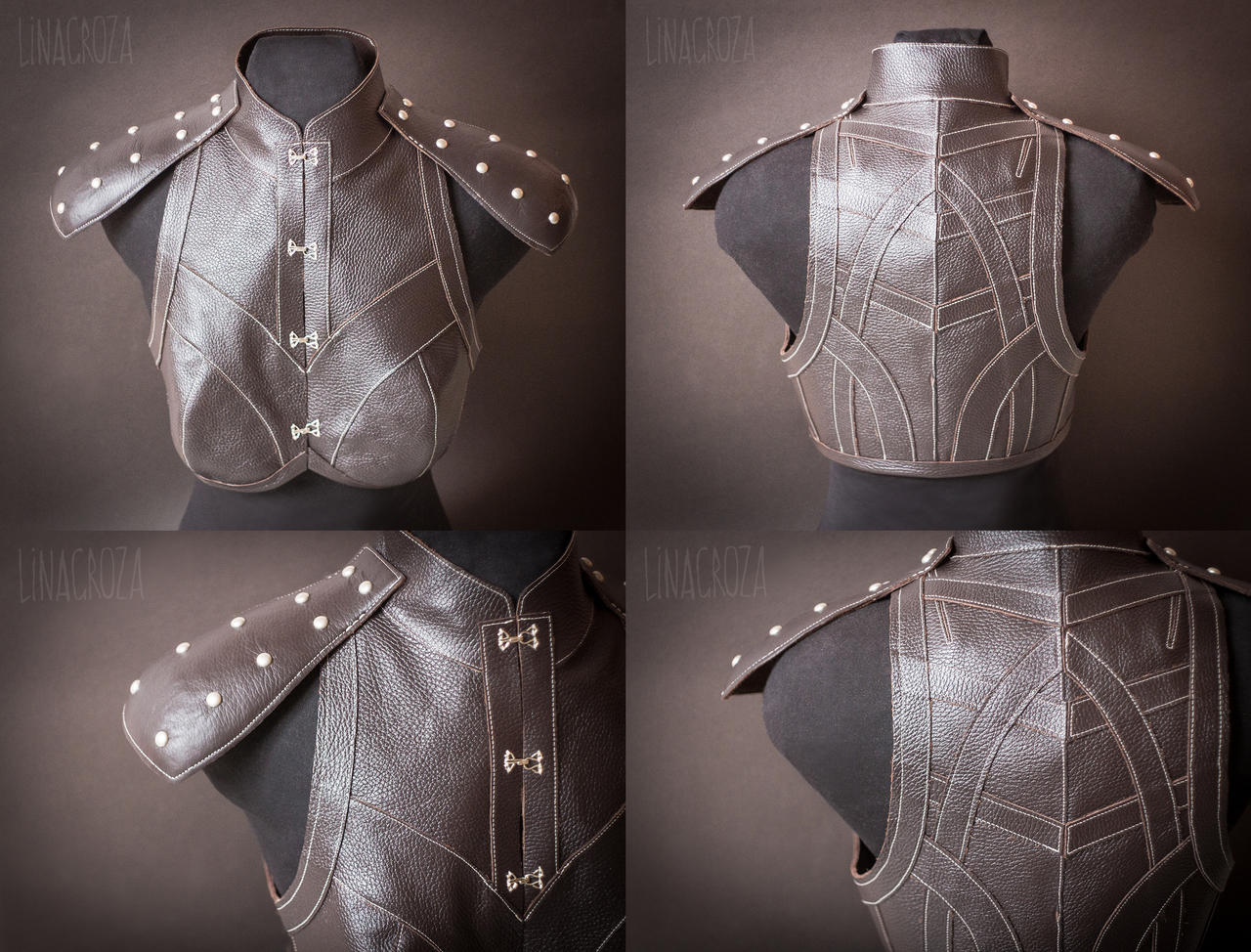 Leather armour from Dragon Age: Inquisition