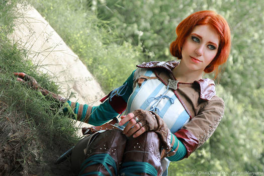 The Witcher 2 cosplay - Triss Merigold_5