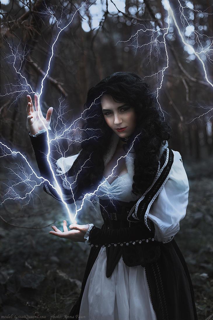 Saga o wiedzminie - Yennefer z Vengerbergu_4 by GreatQueenLina