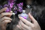 Saga o wiedzminie - Yennefer and lilac_3