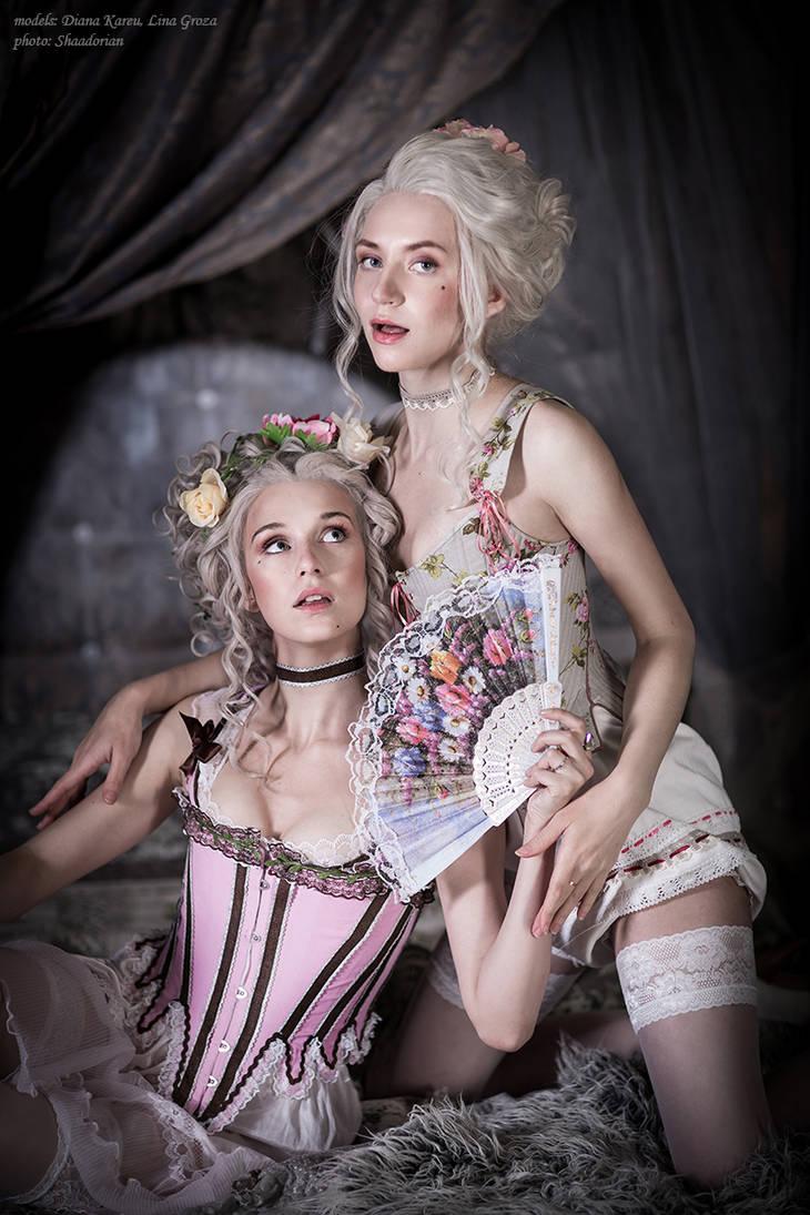 18th century boudoir by GreatQueenLina
