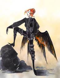 Dark wings by GreatQueenLina