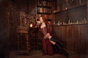Saga o wiedzminie - Sabrina Glevissig_2 by GreatQueenLina