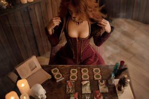 Saga o wiedzminie - Sabrina Glevissig_3 by GreatQueenLina