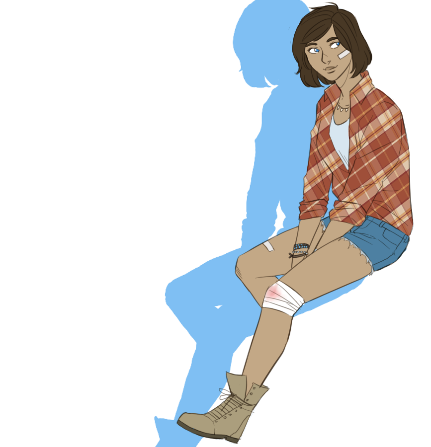 Modern AU Korra by The-DarkBunny