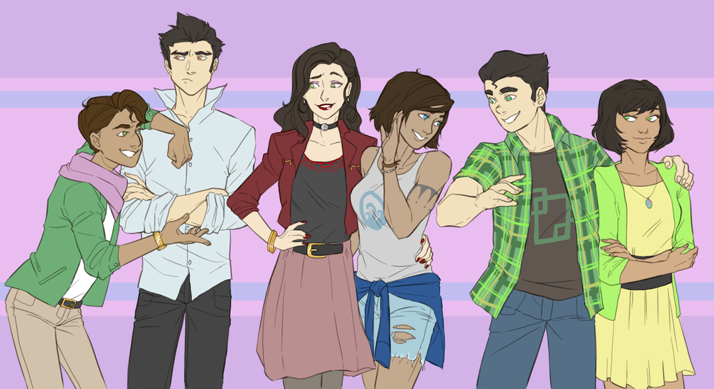 Modern AU Krew by The-DarkBunny