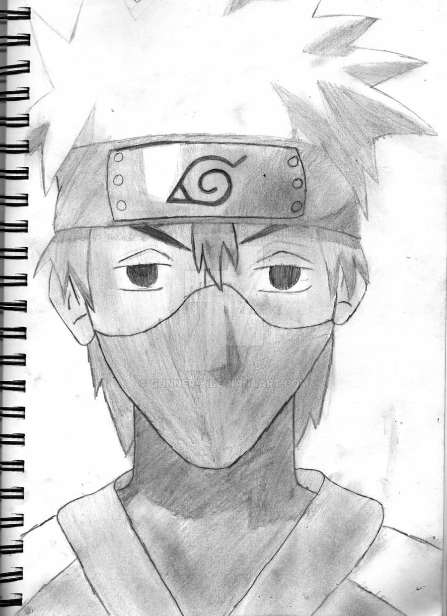 kakashi sketches - 761×1049