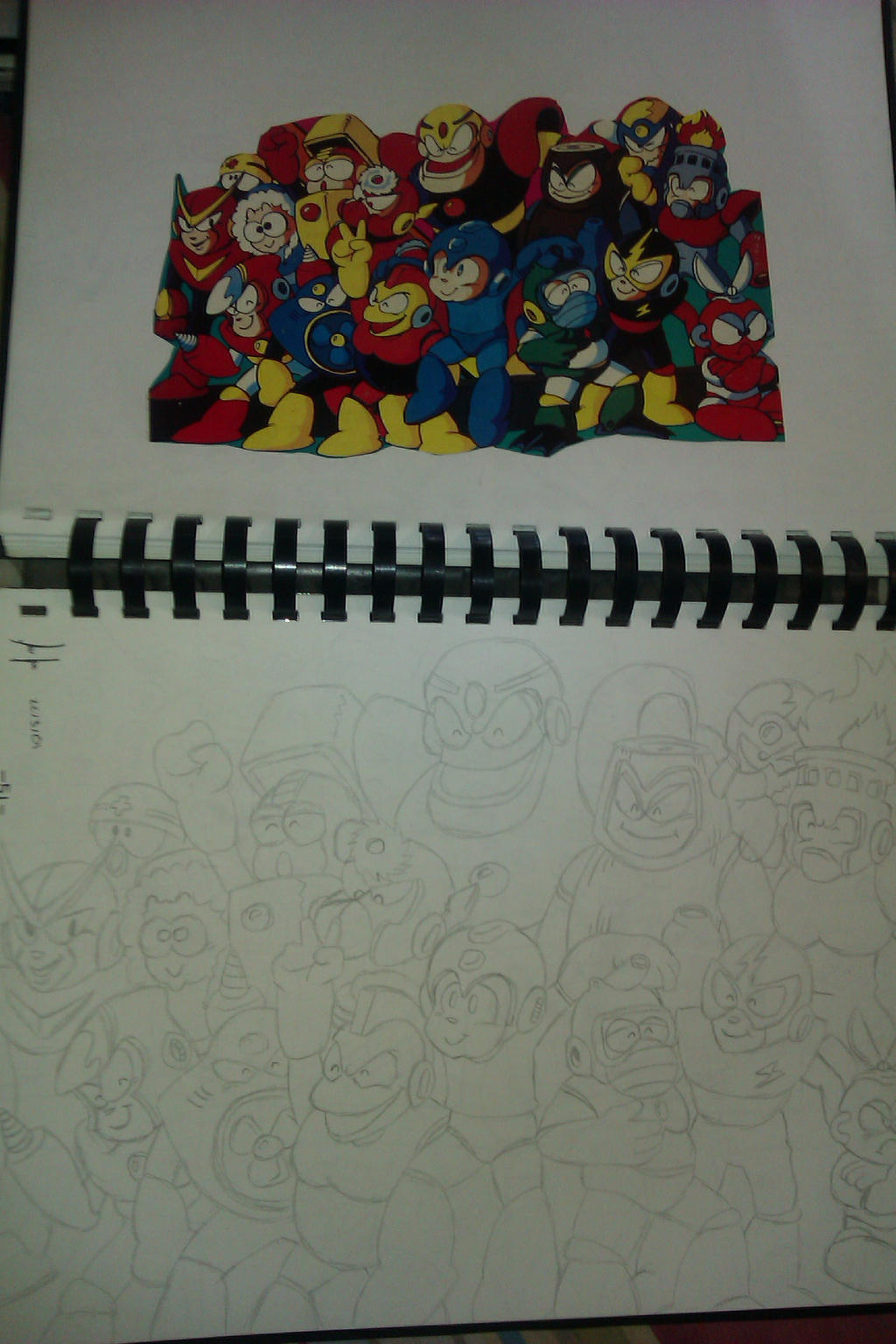 Megaman group by Megasc0rpion
