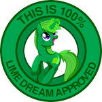 100% Lime Dream Approved