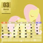 MLP:FIM Calendar 2017 : Fluttershy