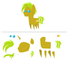 Lemon Strip Citrus [Pointy Pony]