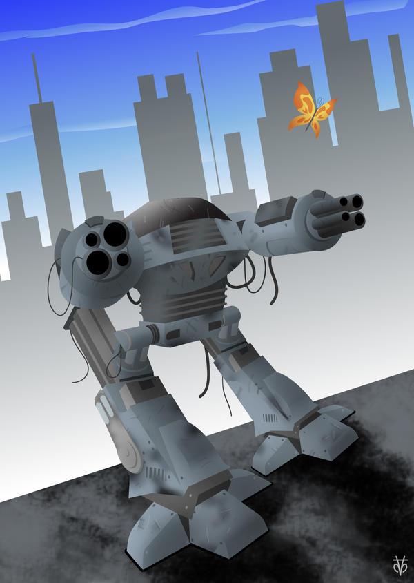 Robocop ED209 by Eyemelt