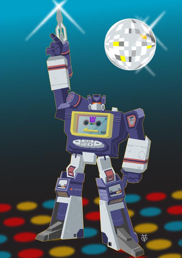 Transformers Soundwave by Eyemelt