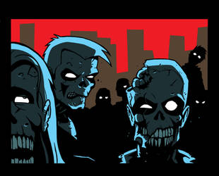 Zombies by Eyemelt