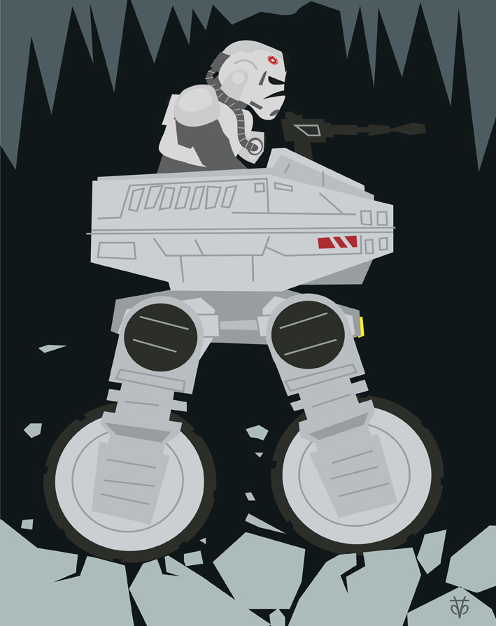 Star Wars MTV-7  AT-AT Driver by Eyemelt