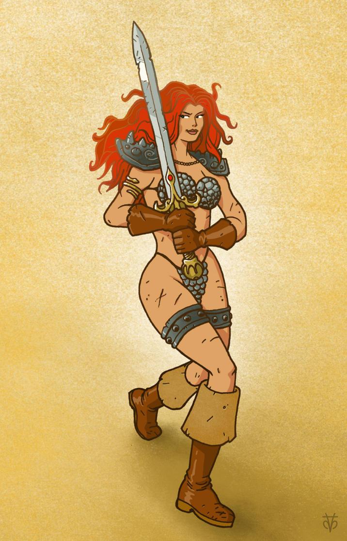 Red Sonja by Eyemelt
