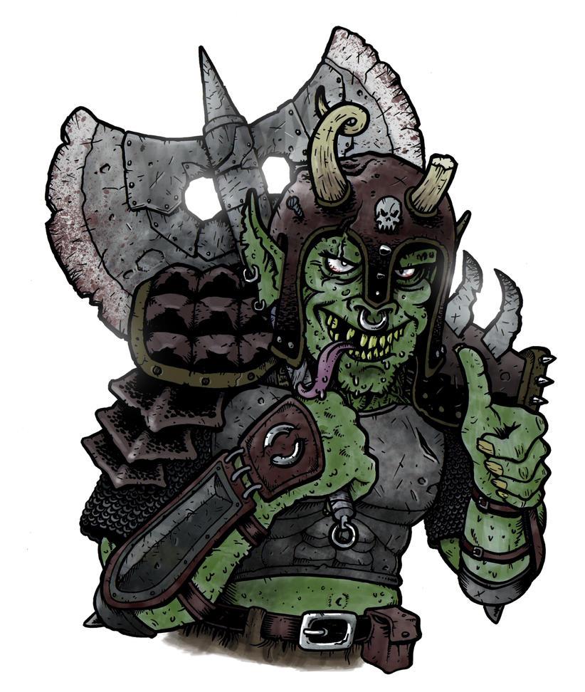 Orc thing by Eyemelt
