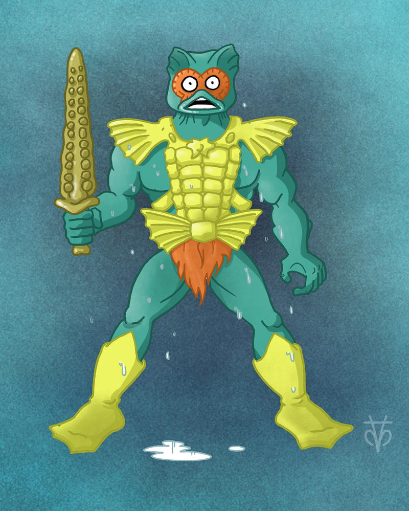 Masters of the Universe Merman by Eyemelt
