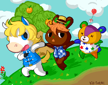 ACNL4-Life Contest ~ by KidCoca
