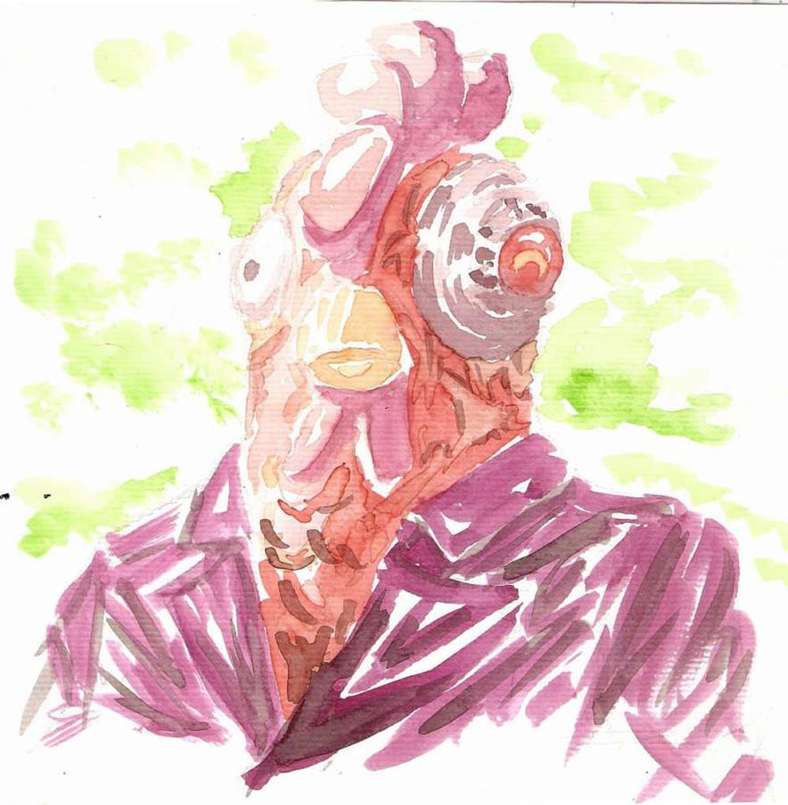 soy un pollo marge by KidCoca
