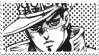 Jotaro Kujo DIU Stamp 1 by KidCoca