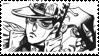 Jotaro Kujo DIU Stamp 2 by KidCoca