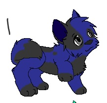 The Puppy I adopted from Candy Kitten by XxDuckSaucexX