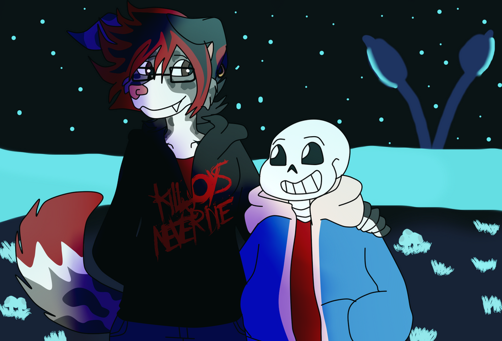 :Undertale/Fursona:~DOGgone great place to chill~ by SchwiftyBurito
