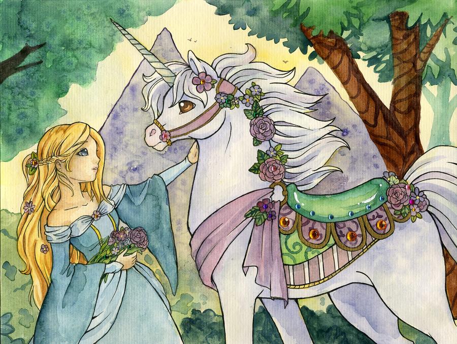Carousel Unicorn by kuro-rakuen